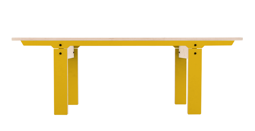Slim 04 Small Bench Canary Yellow