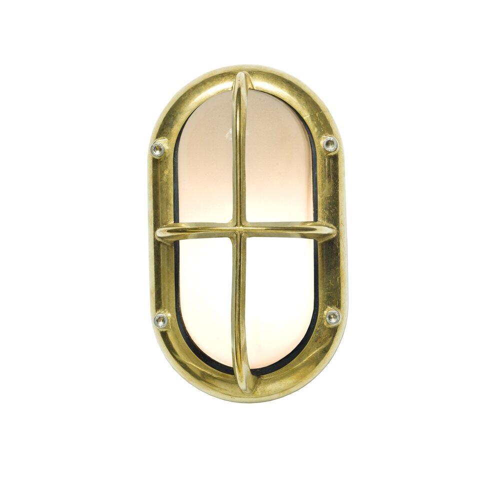 Small Exterior Bulkhead 8123 Brass
