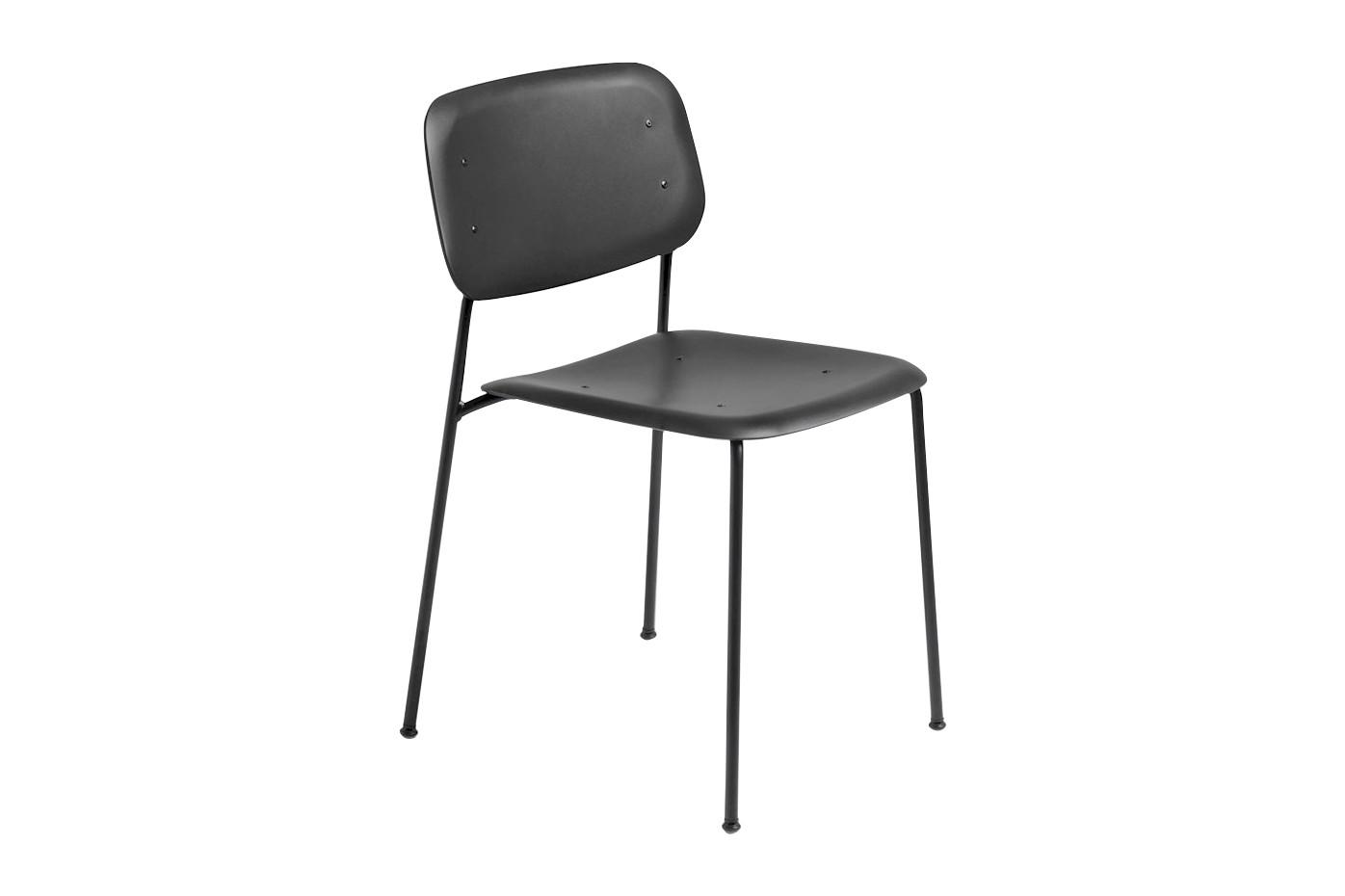 Soft Edge Chair P 10 Black