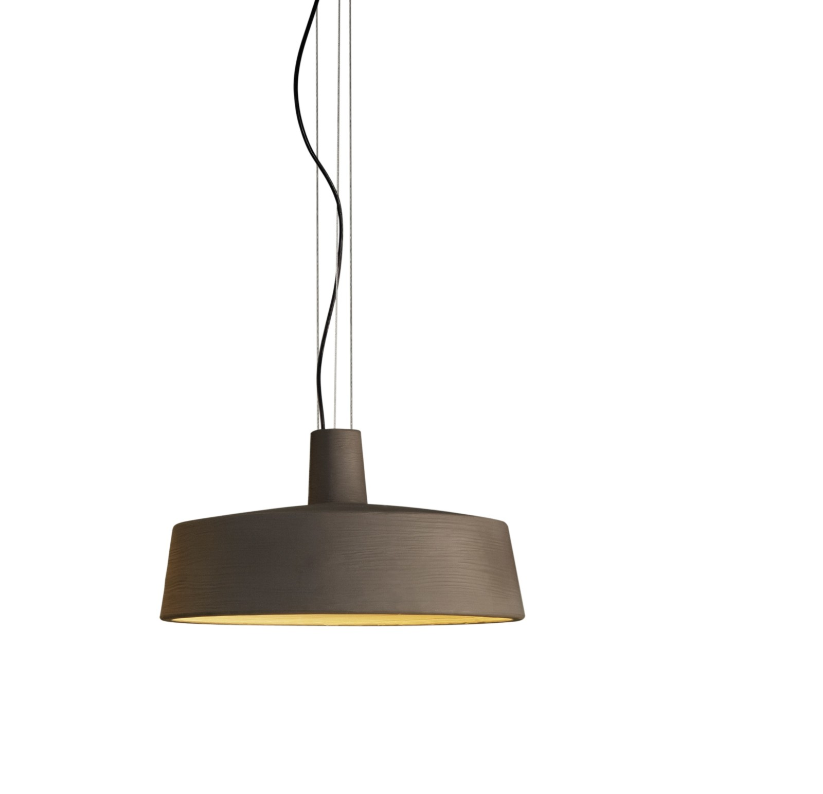 Soho Pendant Light - LED Marset - Stone Grey, Triac