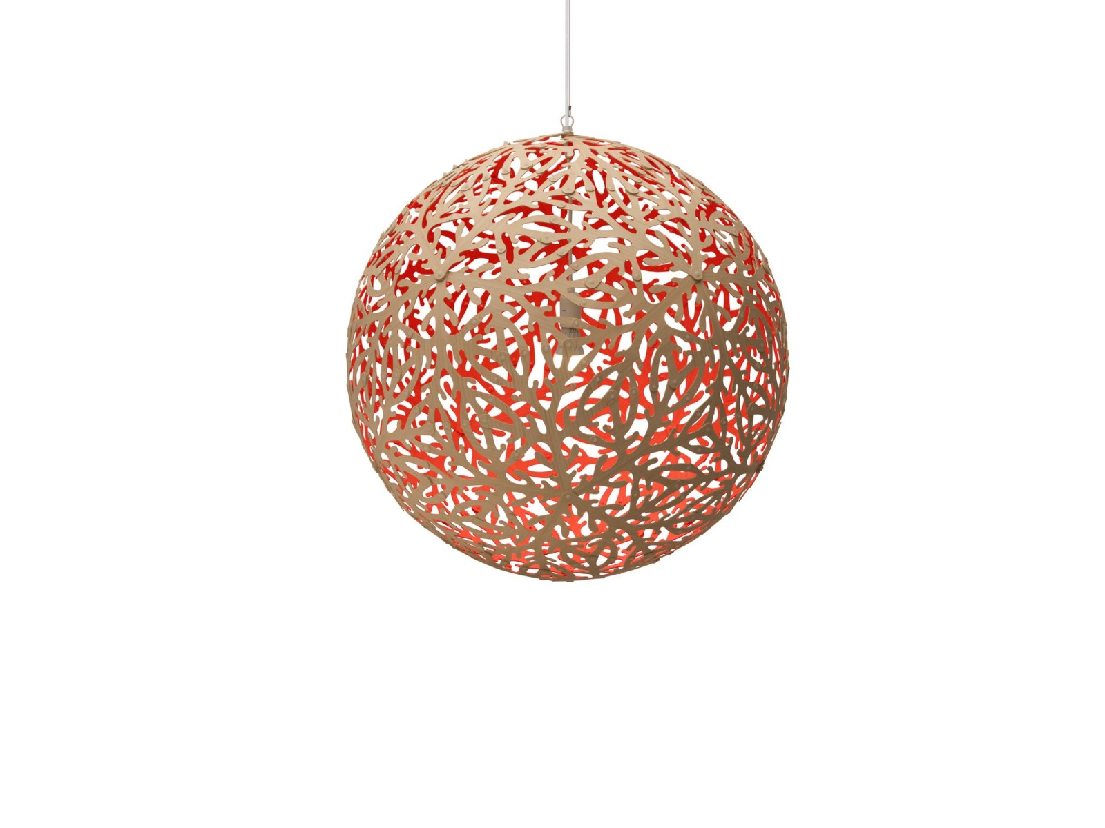 Sola Pendant Light Red, Small