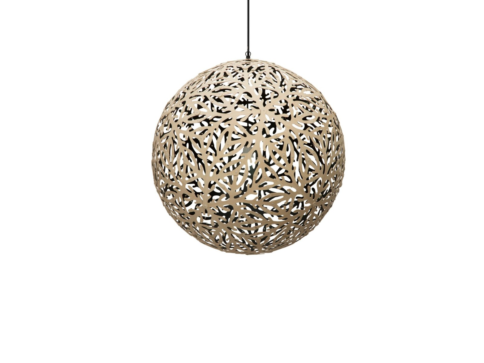 Sola Pendant Light Black 1 Inside, Small