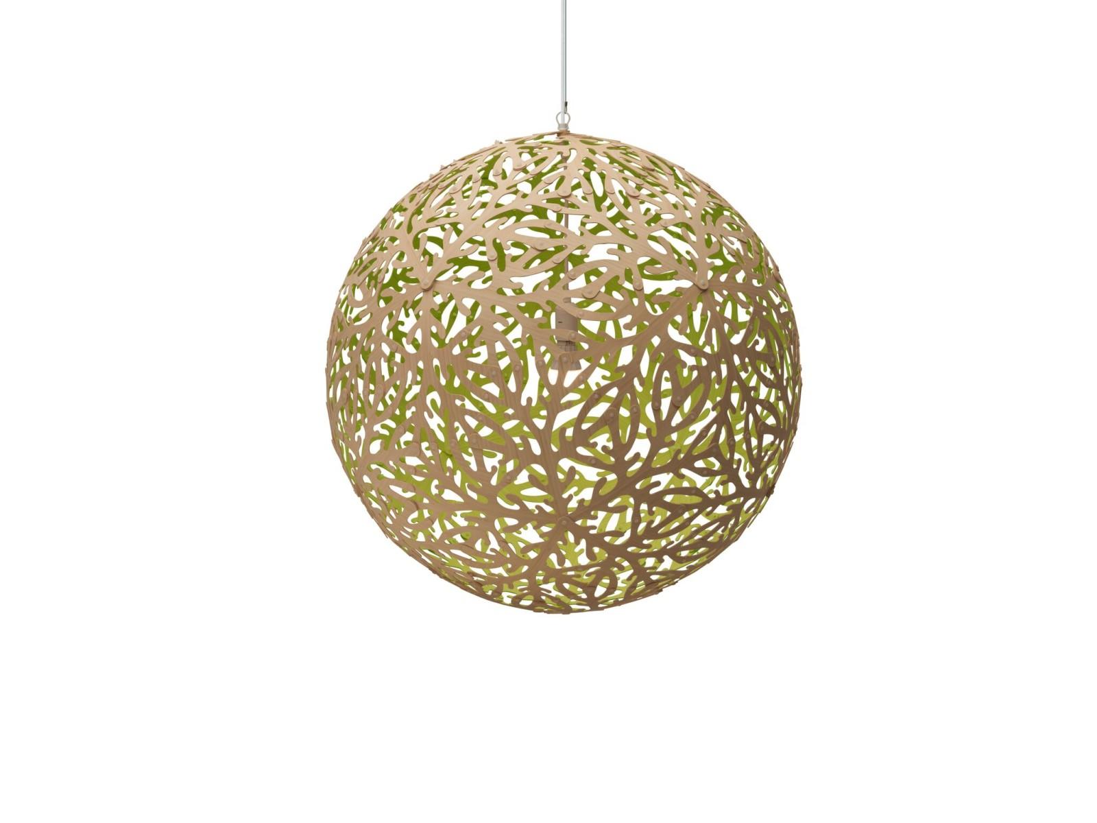 Sola Pendant Light Lime, Medium