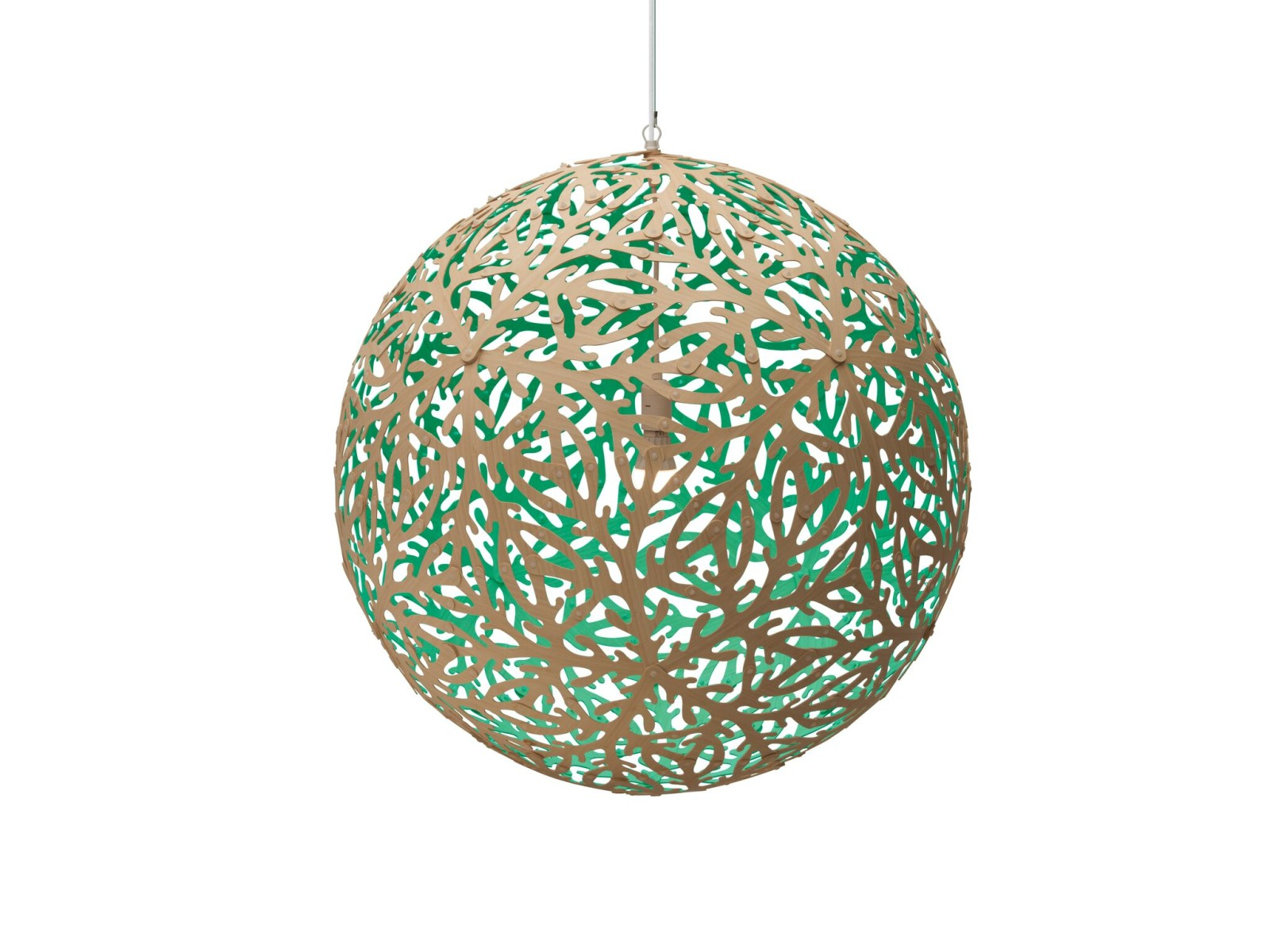 Sola Pendant Light Aqua, Large