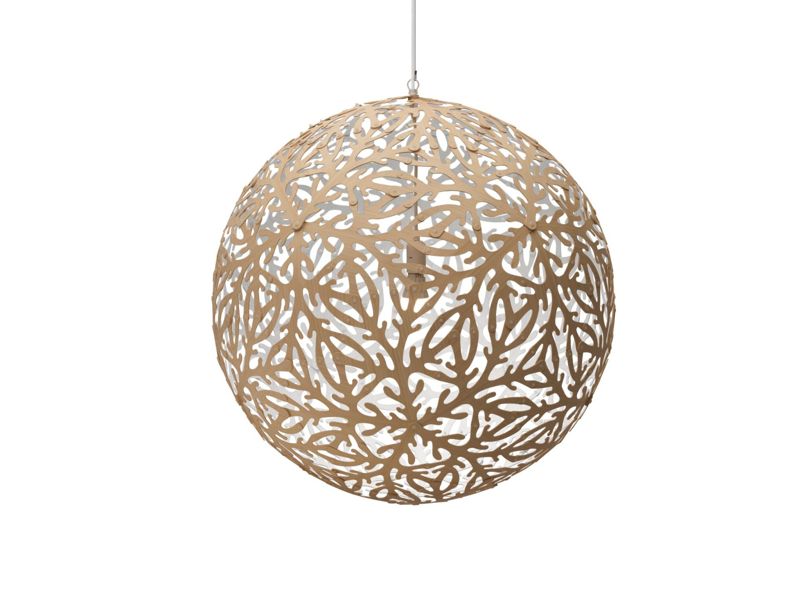 Sola Pendant Light White 1 Side, Large