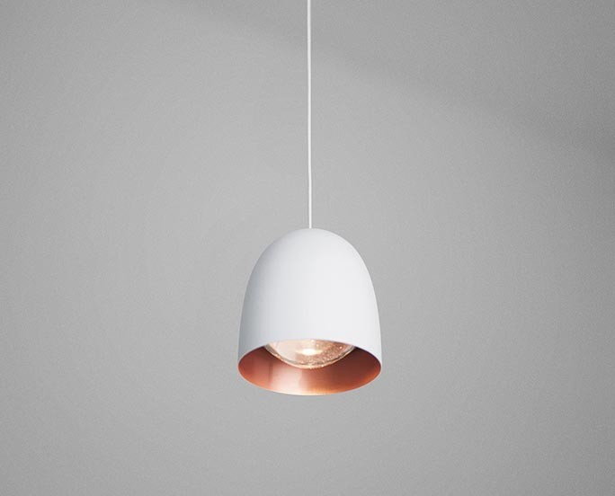 Speers S1 Pendant Light White-Copper