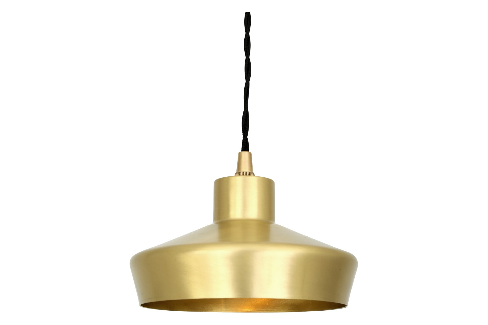 Splendor Pendant Light Satin Brass