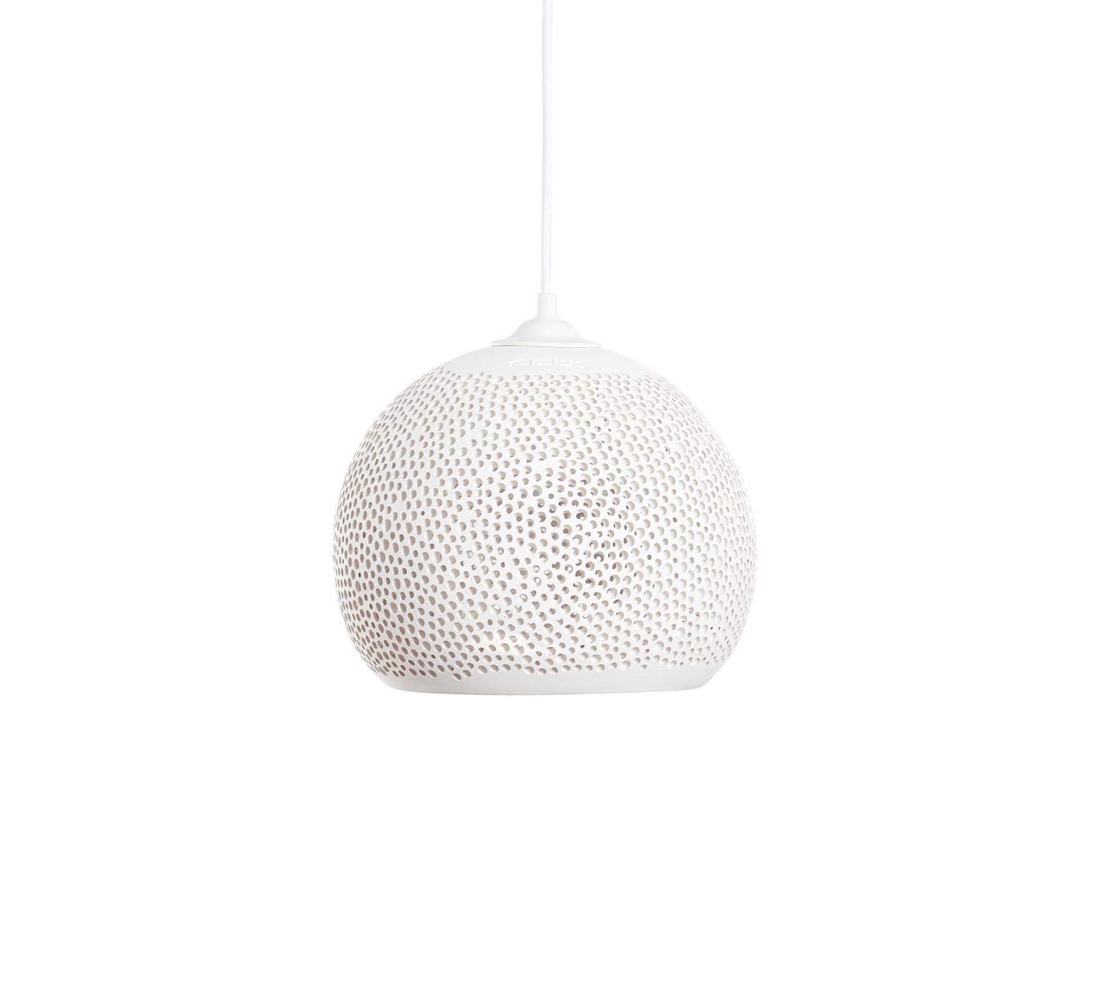 SpongeUp! Pendant Light White, 20 cm