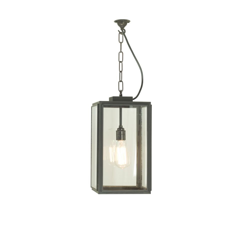Square Pendant Light 7638 Clear glass, Small
