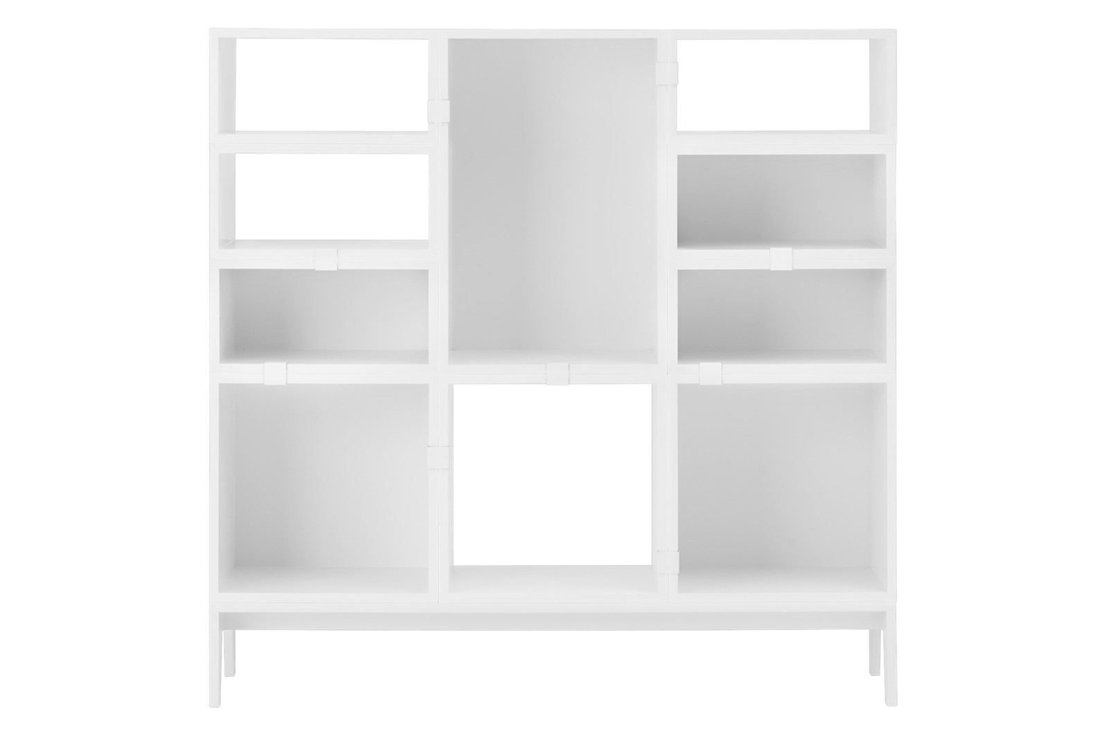Stacked Storage System 2.0 - Configuration 4 White