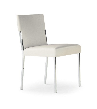 Steel Chair A4500 - Art.48045 - 206 beige, Oxidored Base