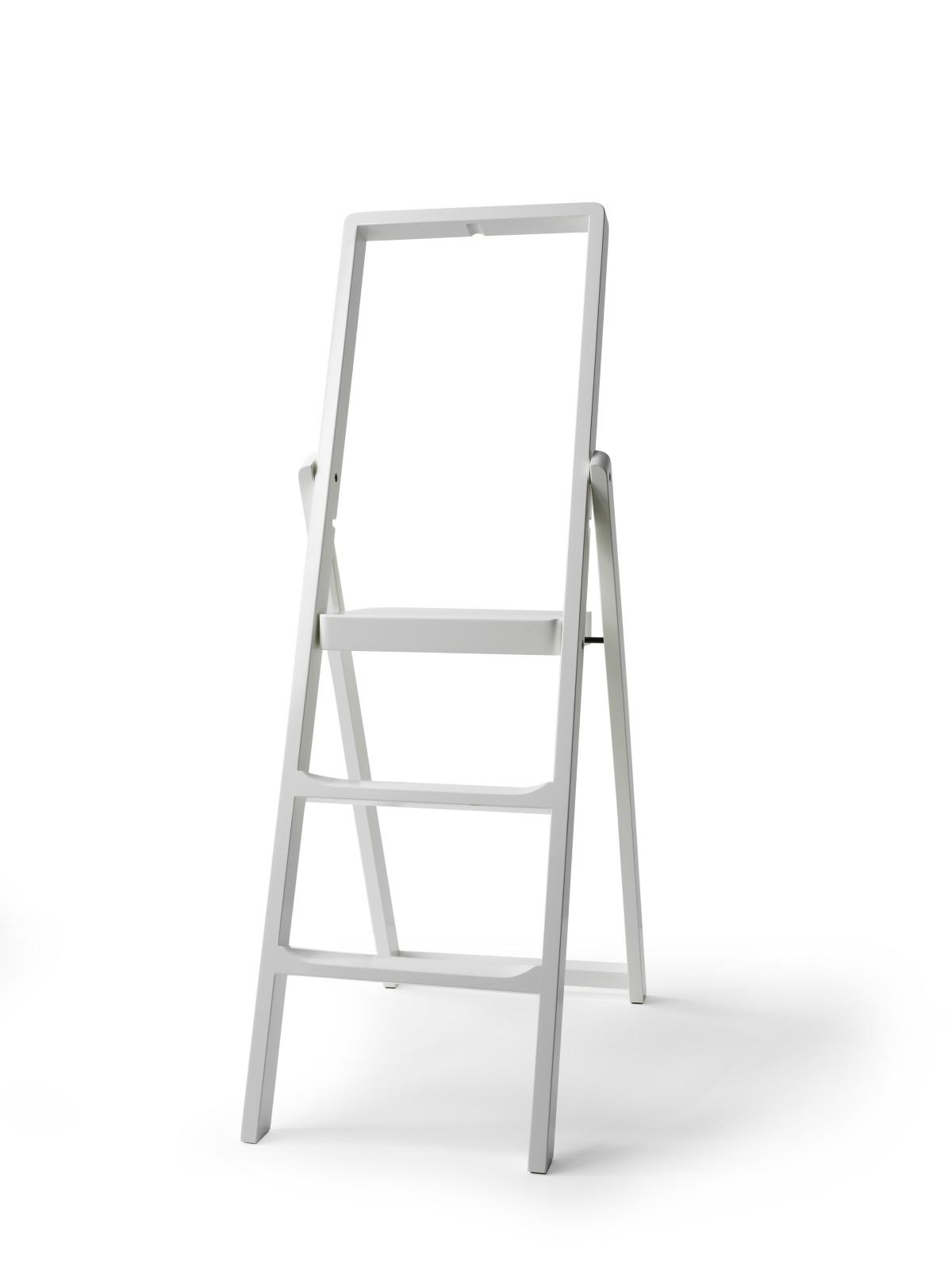 Step Stepladder White