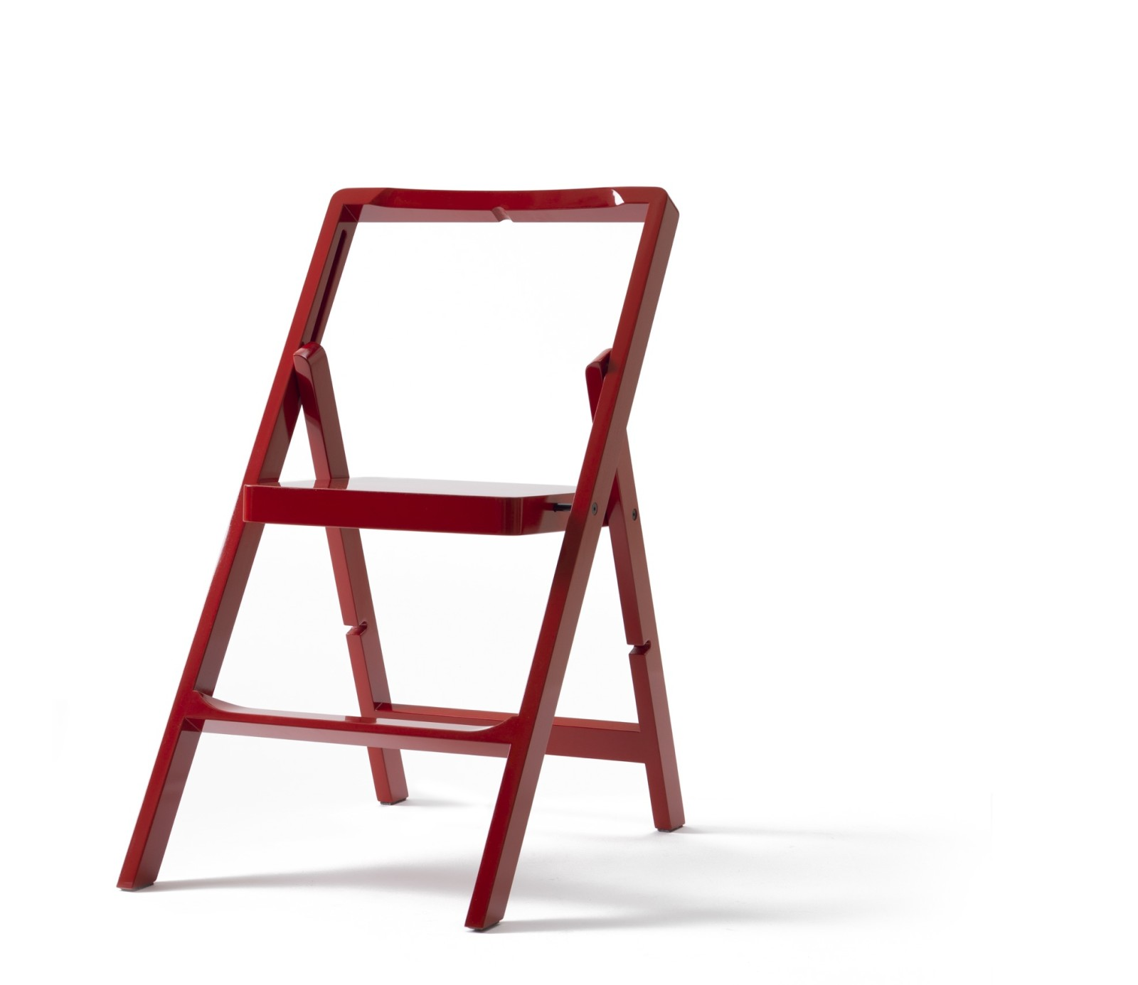 Step Stool Red