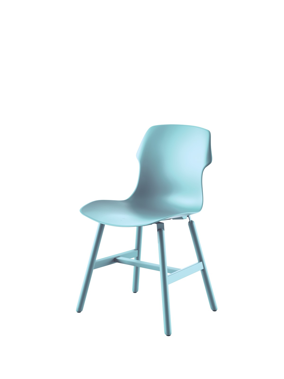 Stereo Metal Chair - Set of 2 Light Blue