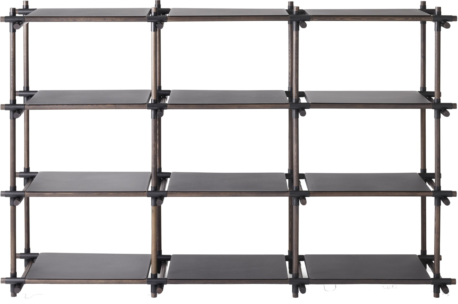 Stick System Shelving, 3x4 Black