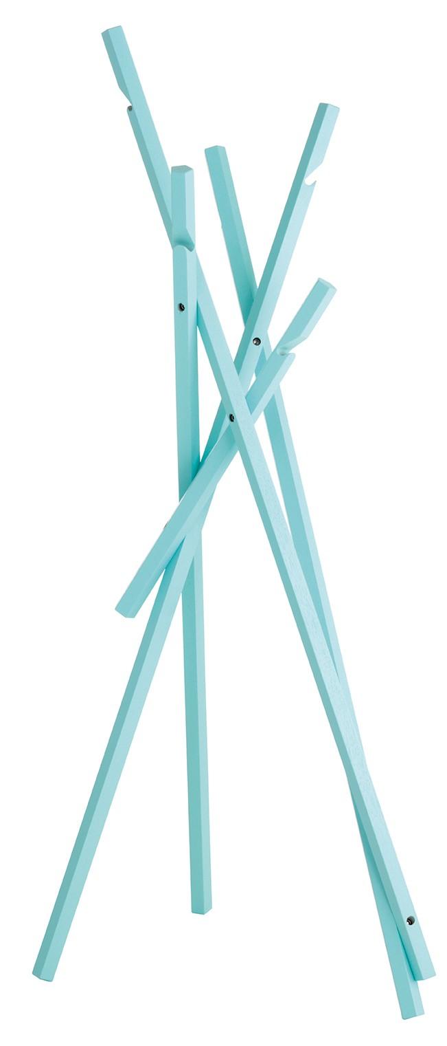 Sticks Mini Coat Stand 33 Aqua