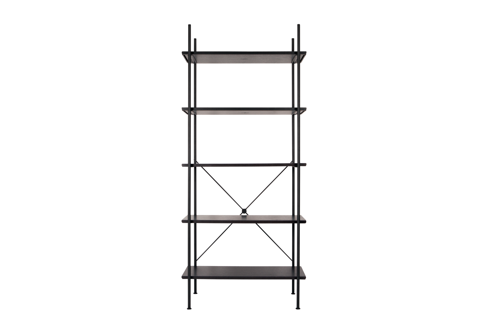 Stock High Shelving Jet Black