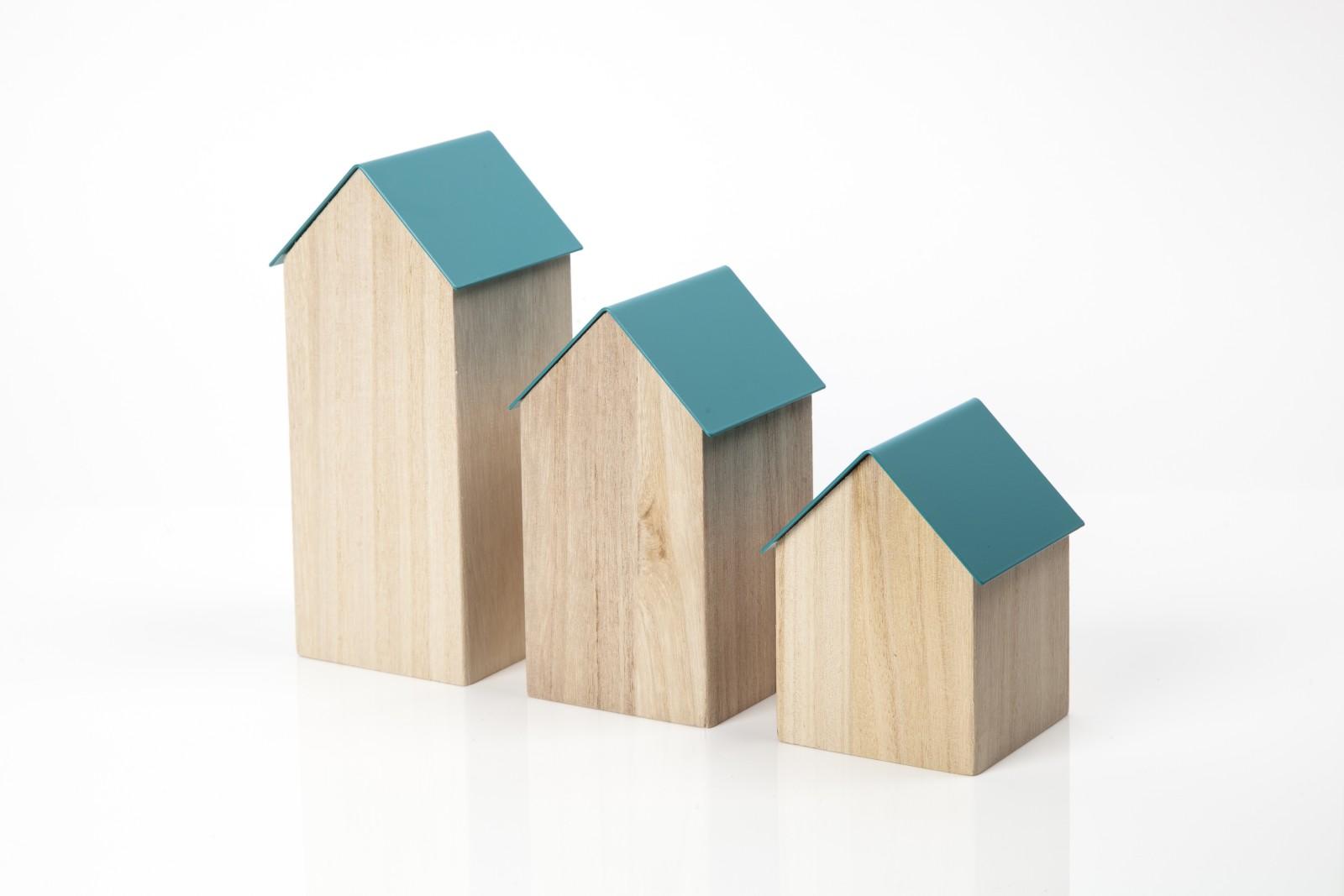 Storage House Medium Dark Blue