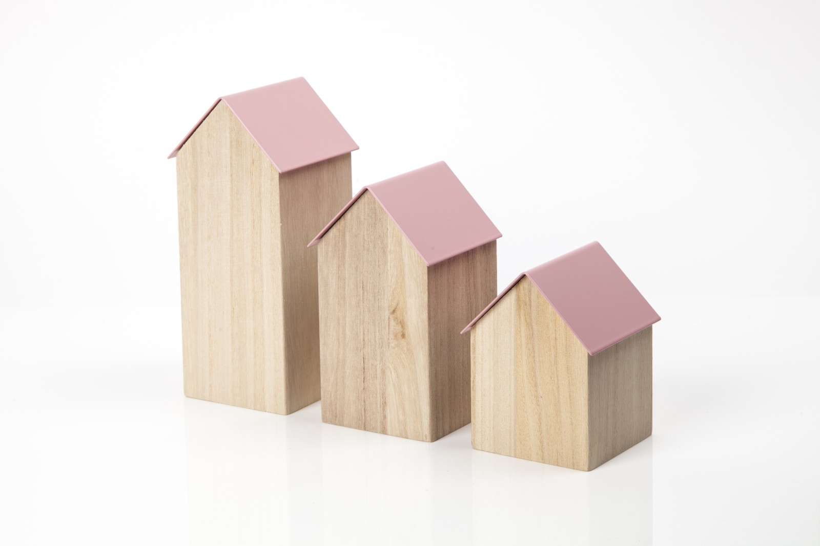 Storage House Small Pink