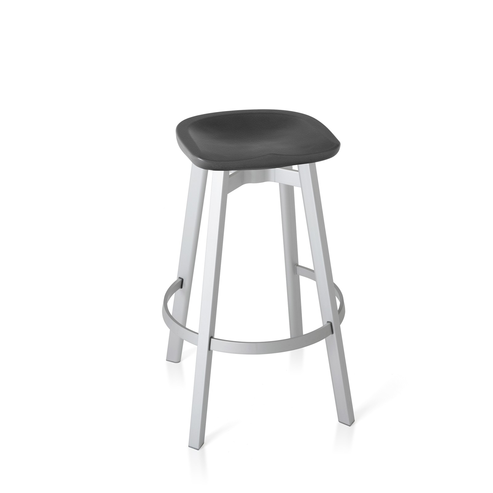 Su Bar Stool Aluminium, Charcoal