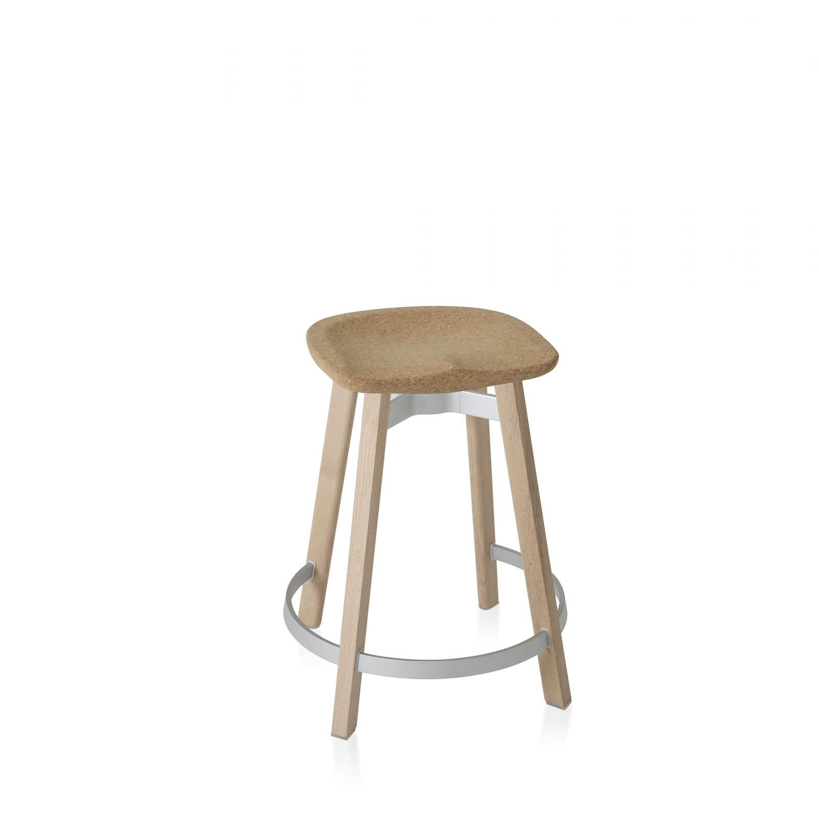 Su Counter Stool Natural Wood, Cork