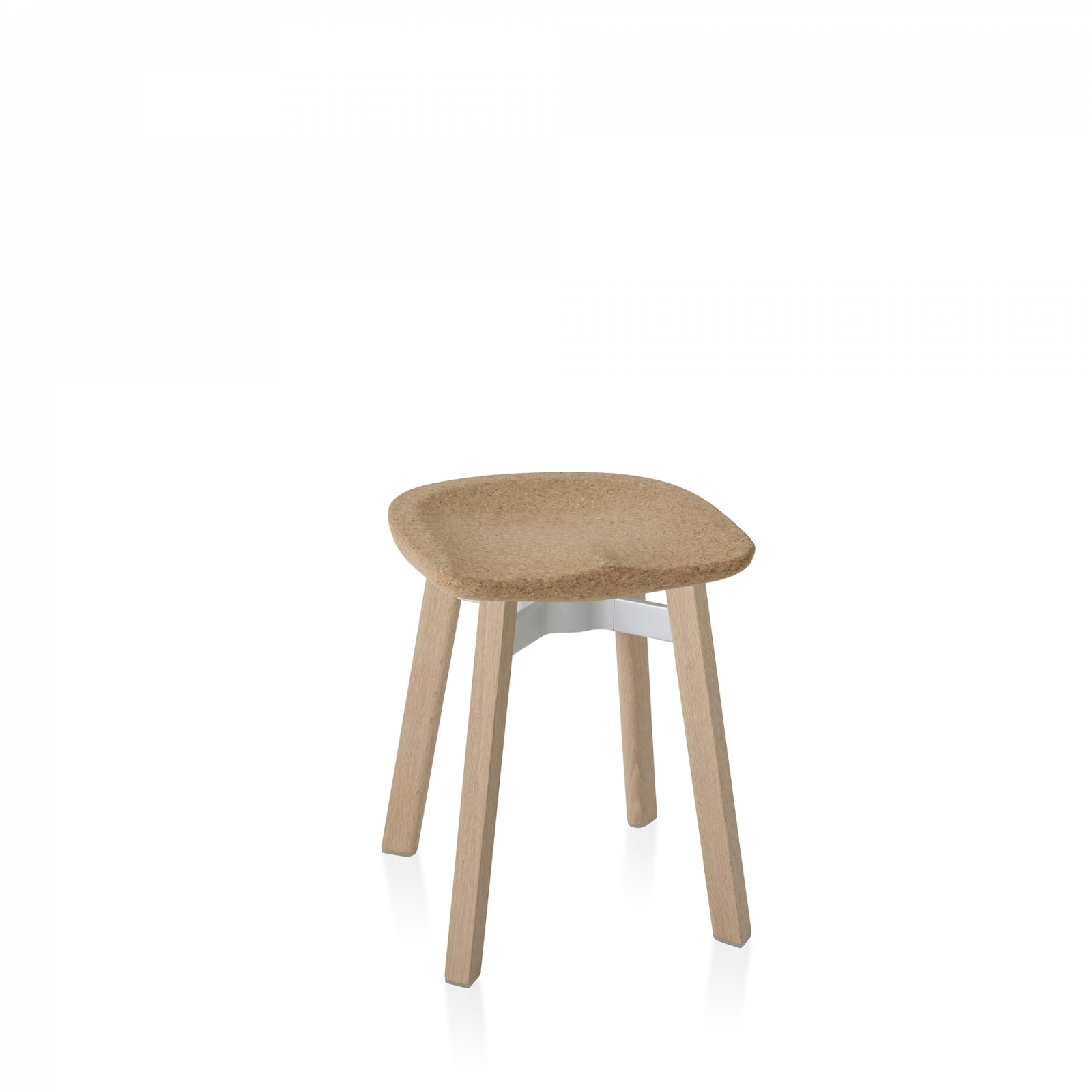 Su Stool Natural Wood, Cork
