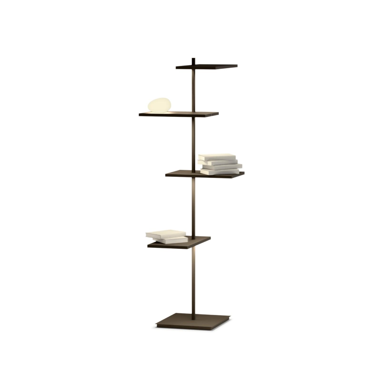 Suite 6006 Floor Lamp Matt Chocolate Lacquer
