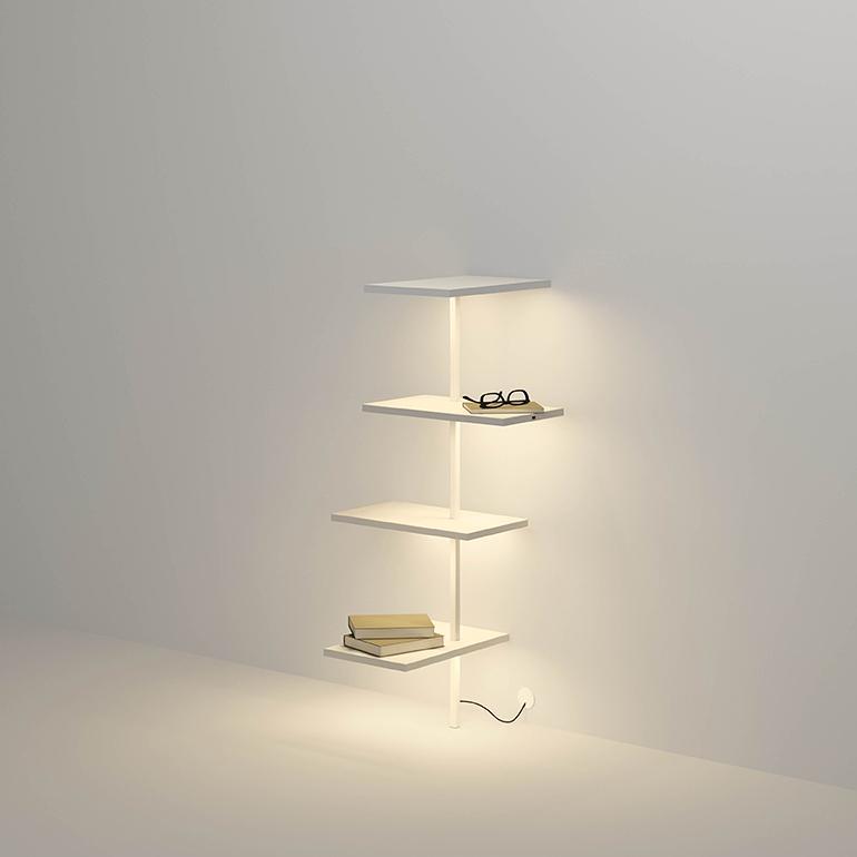 Suite 6025 Table Lamp Matt white lacquer