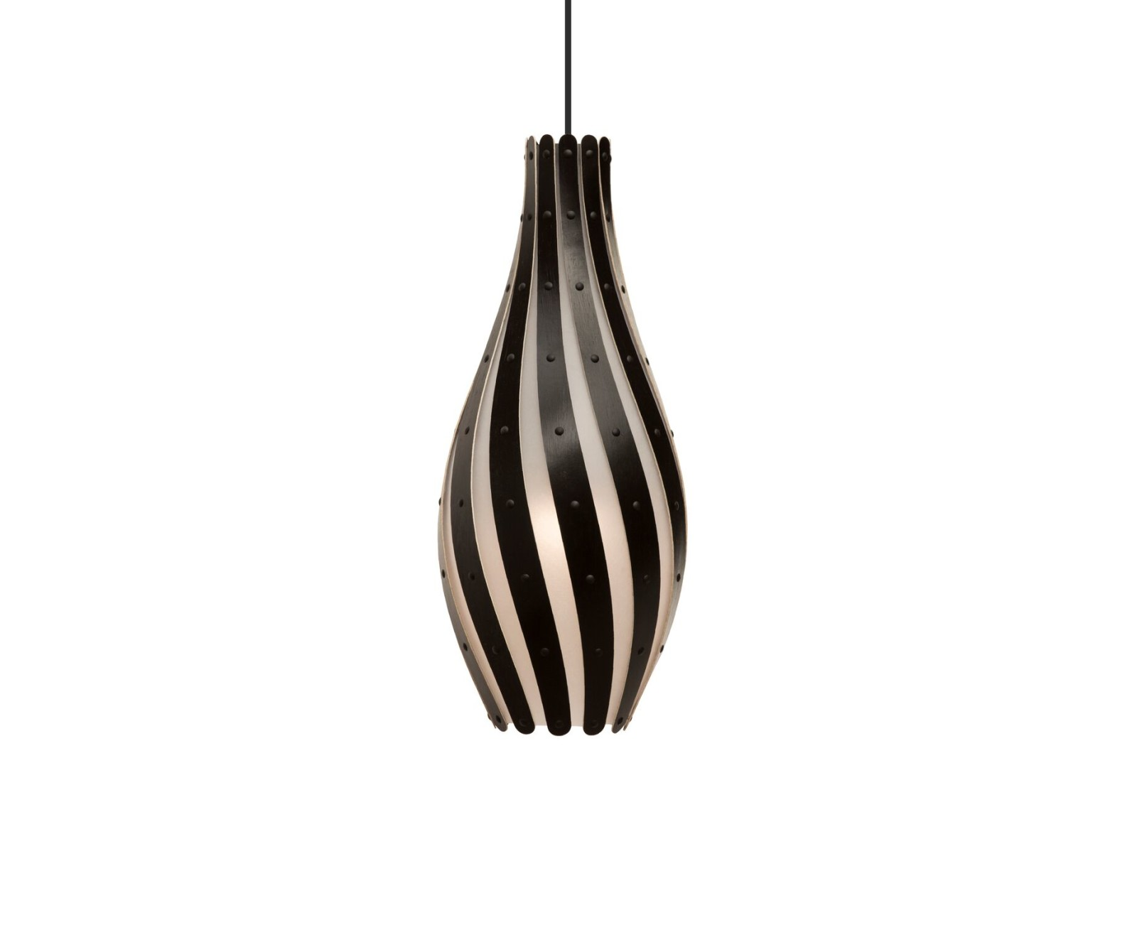 Swish Pendant Light Black, Small