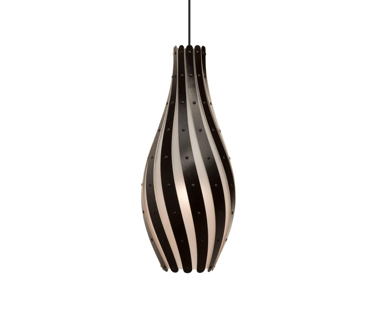Swish Pendant Light Black, Large