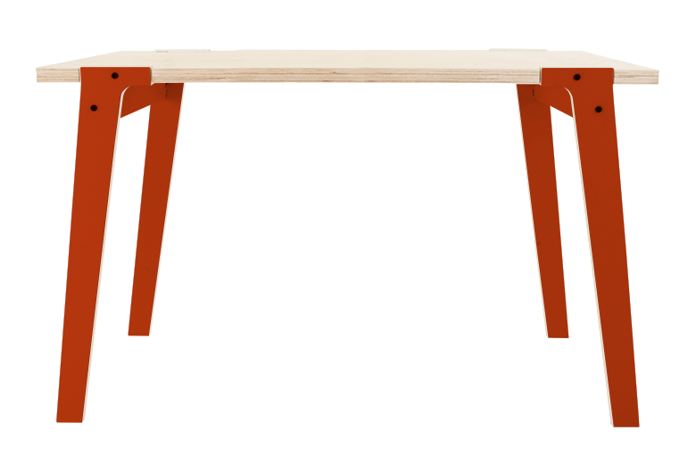 Switch Small Dining Table Foxy Orange