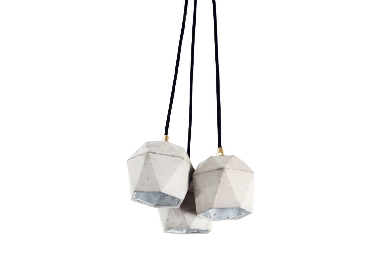 [T2] Bundle Pendant Light Light Grey/Silver