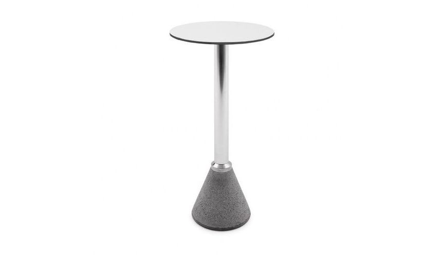 Table One Bistrot - High Polished Frame, White Top