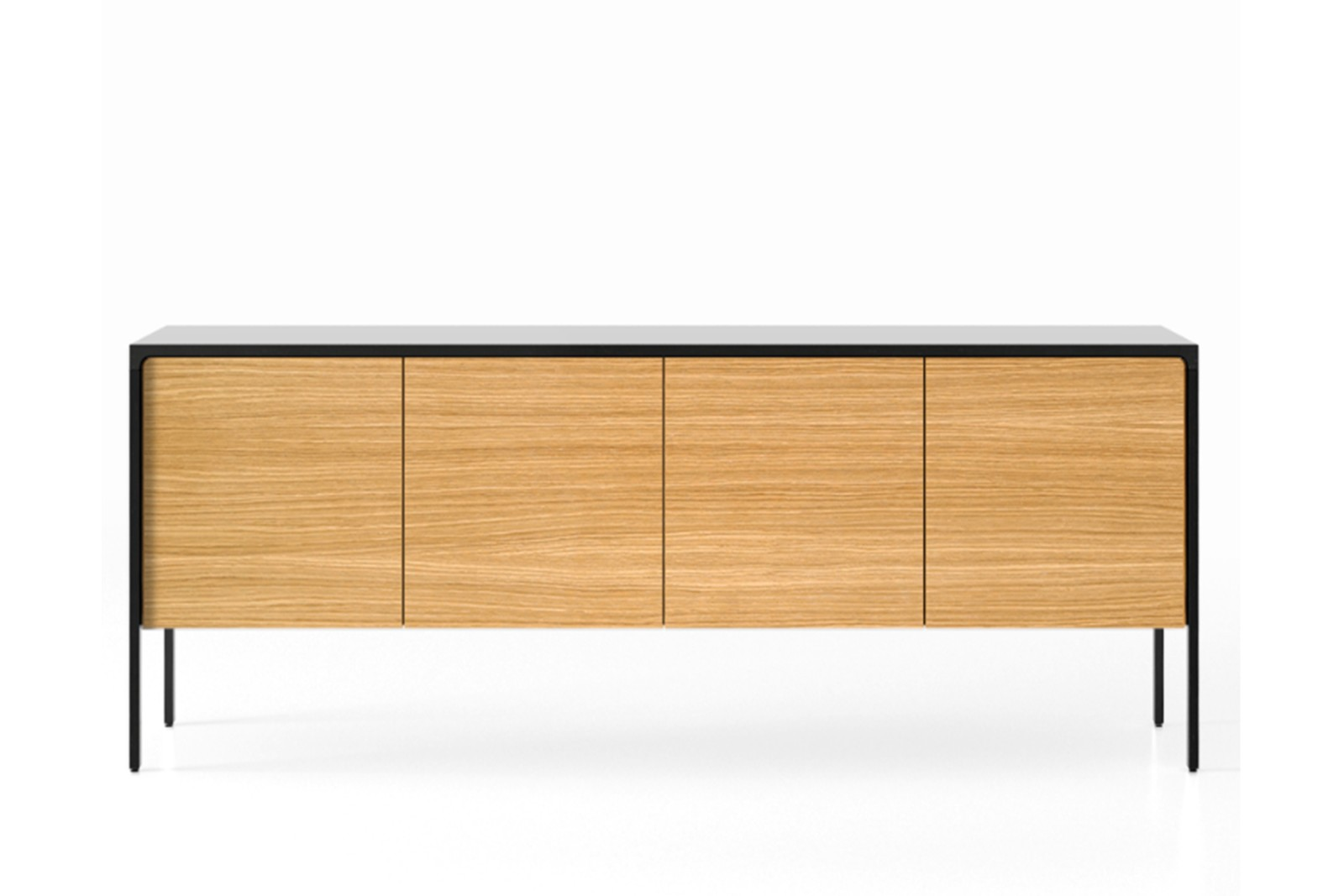 TAC215 Tactile Sideboard Ebony Stained Oak, Super-Matt Oak