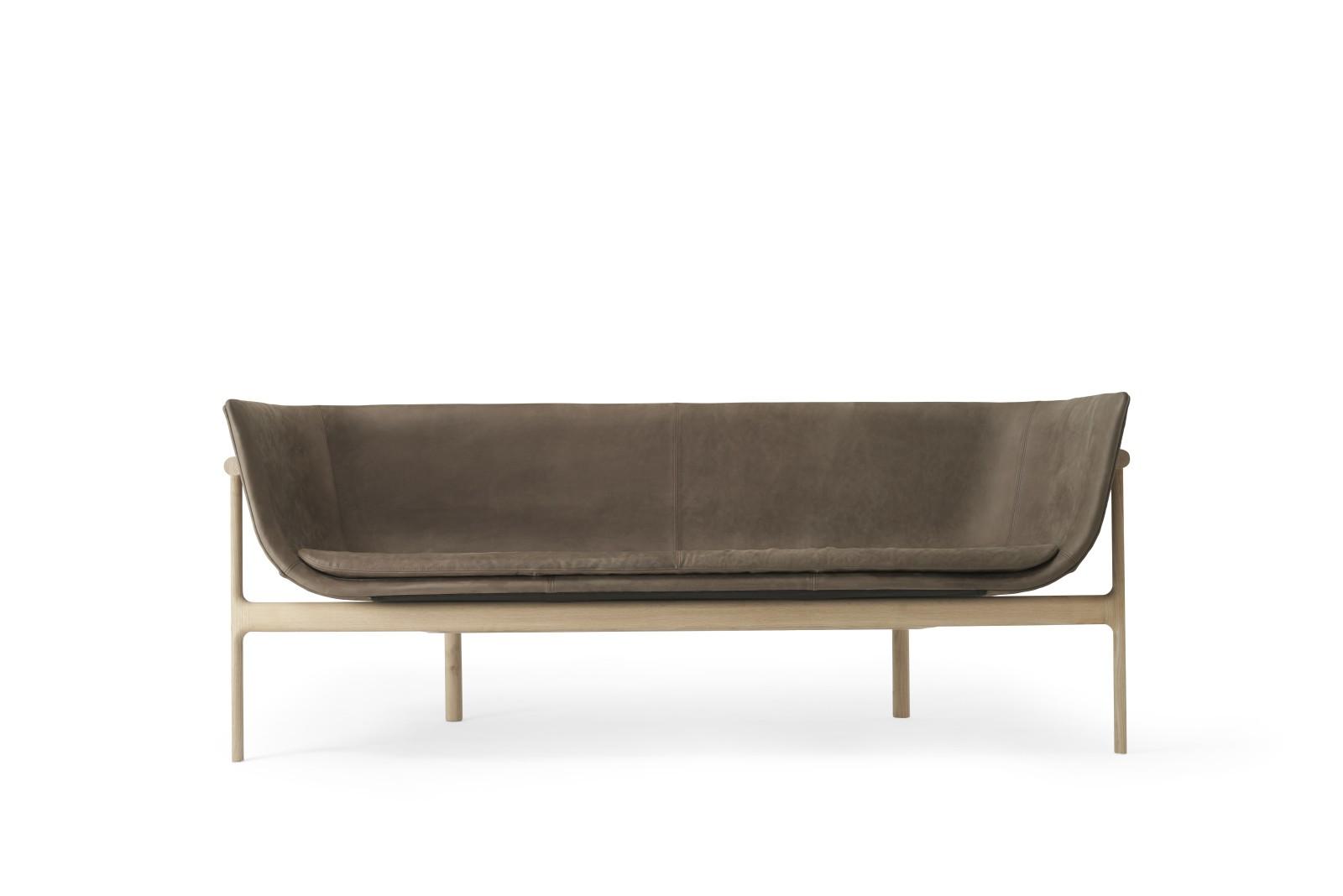 Tailor Lounge Sofa Natural Oak/Dark Brown