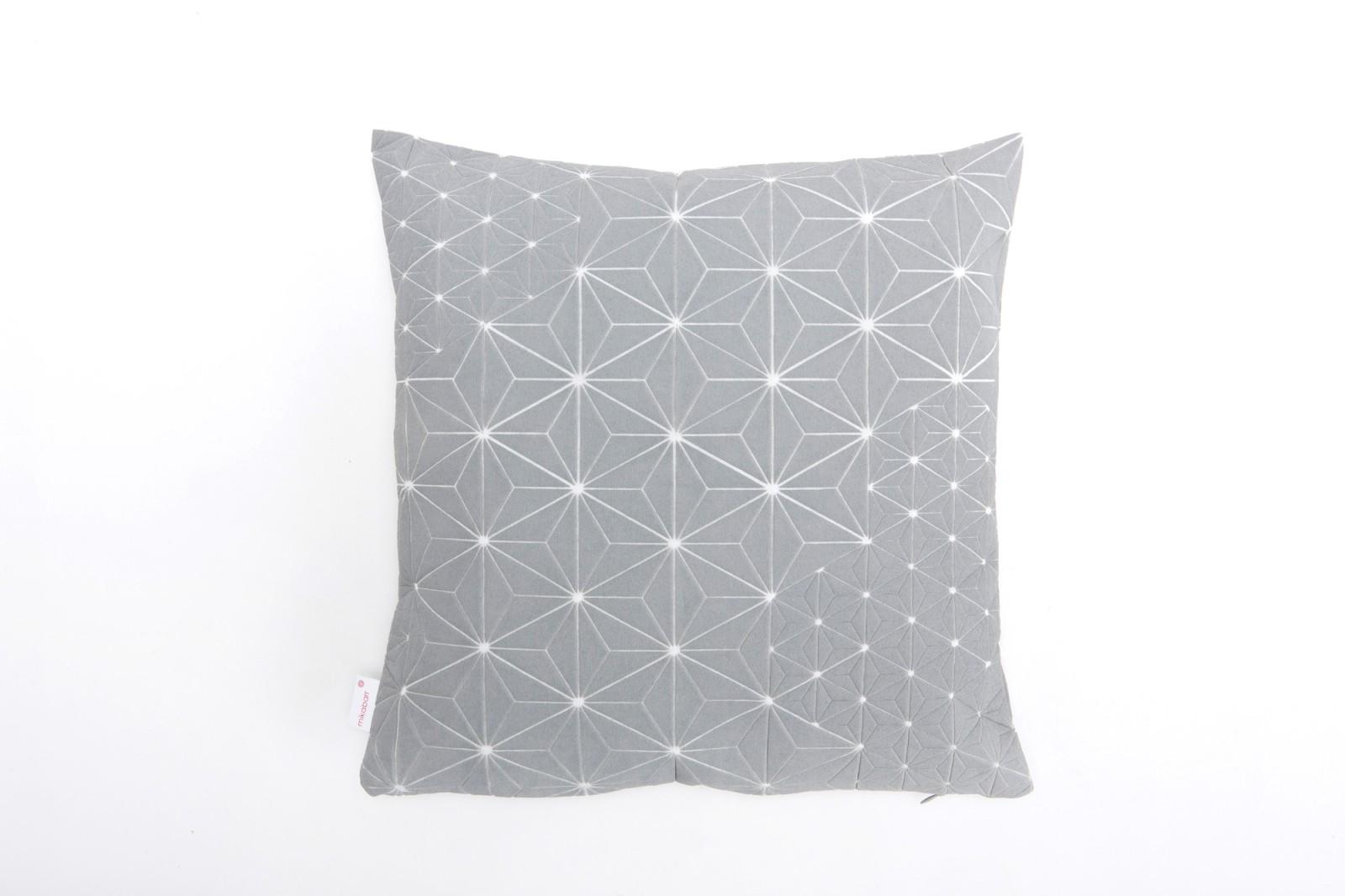 Tamara Cushion Square Cushion Cover Tamara Grey & White