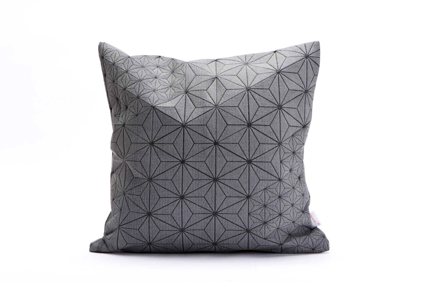Tamara Cushion Square Cushion Cover Tamara Grey