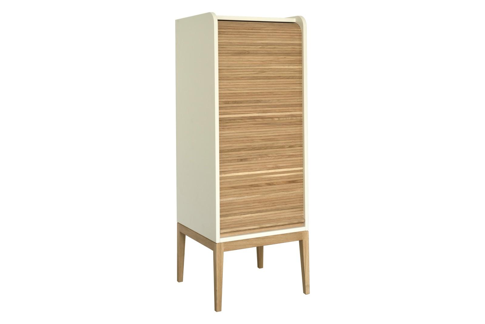 Tapparelle Cabinet White, Medium