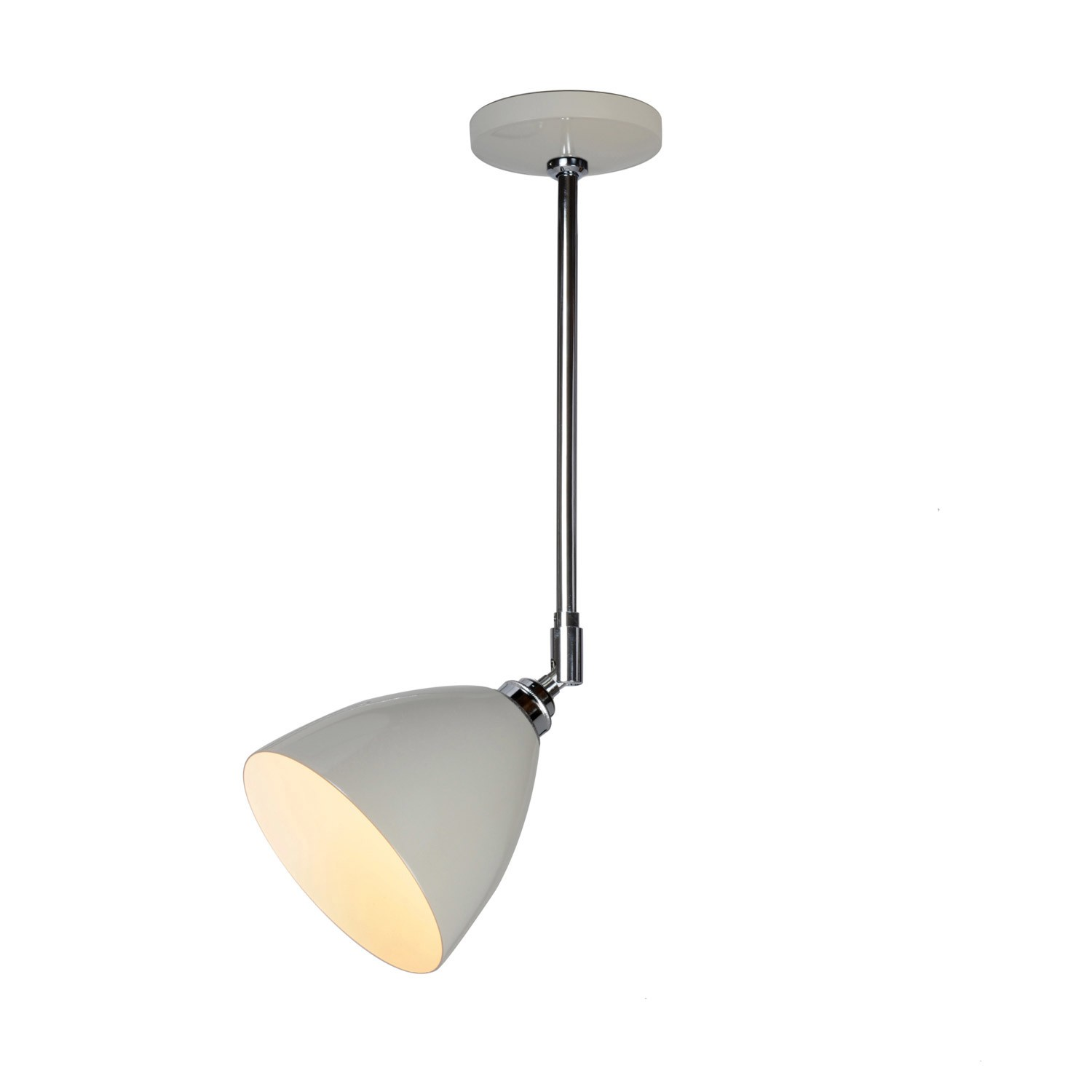 Task Ceiling Light Putty Grey