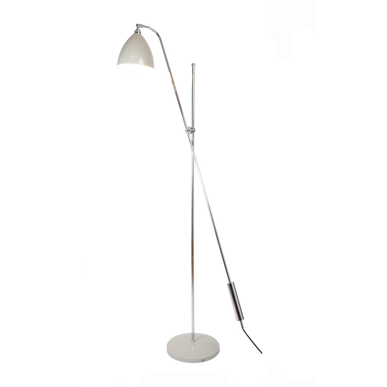 Task Overreach Floor Lamp Putty Grey