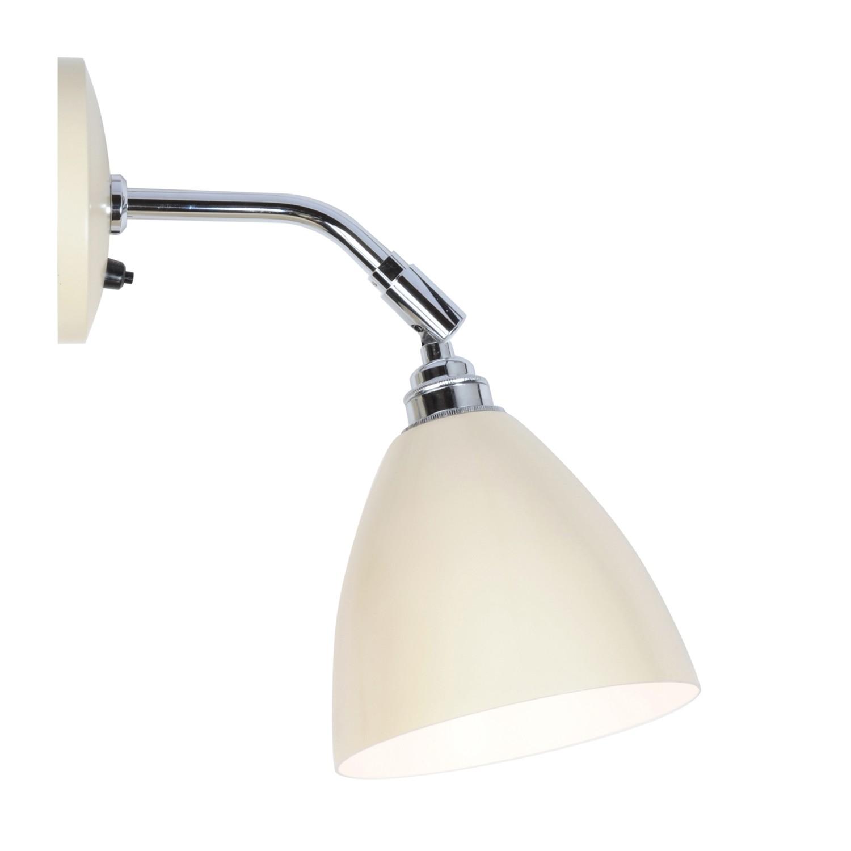 Task Short Wall Light Cream