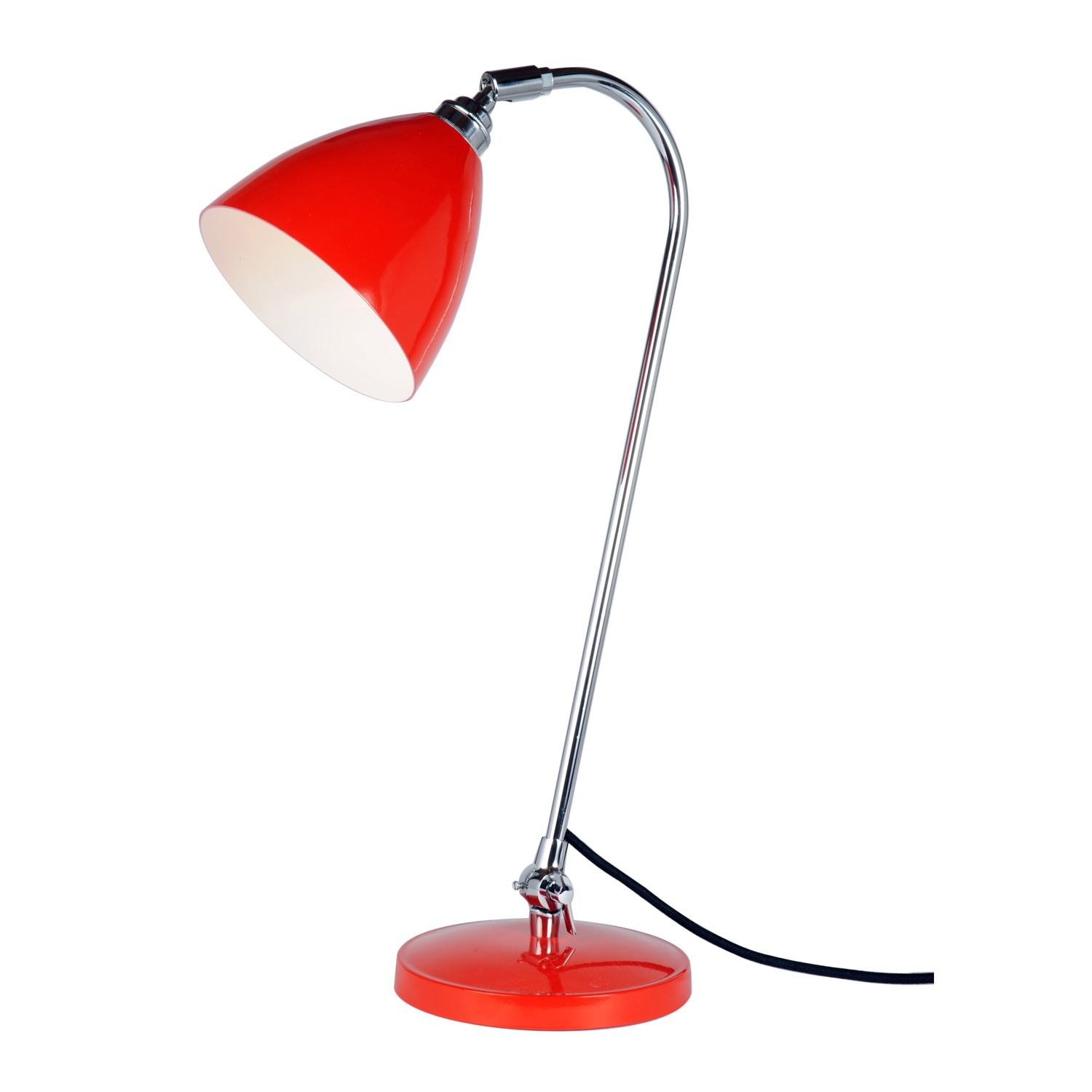 Task Solo Table Lamp Red