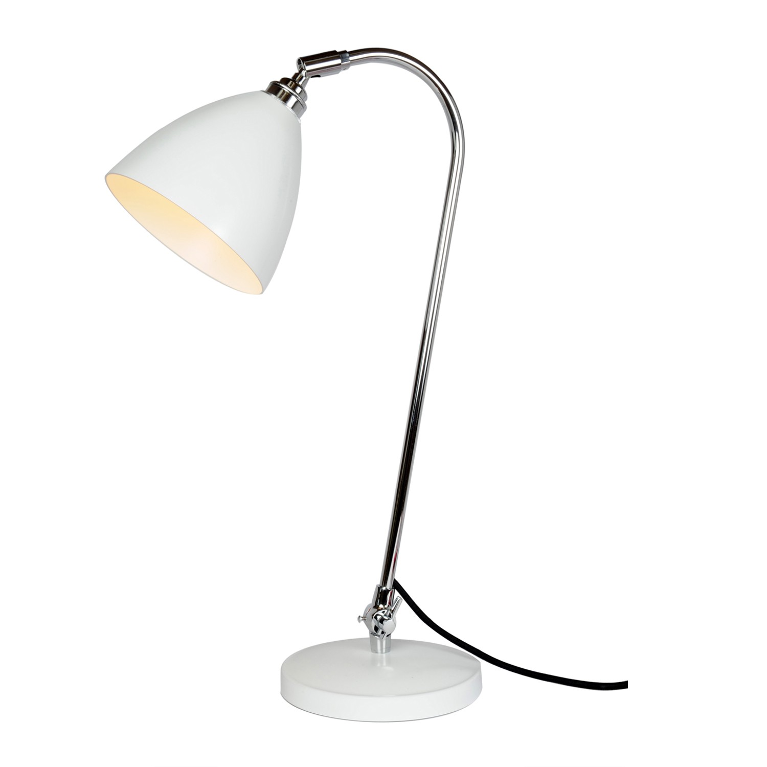 Task Solo Table Lamp White