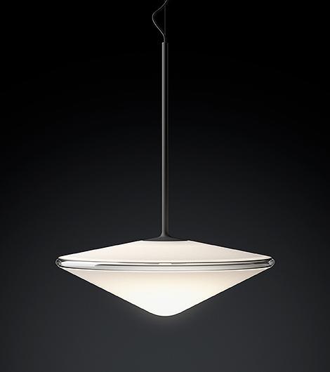 Tempo 5780 Pendant Lamp Matt graphite lacquer