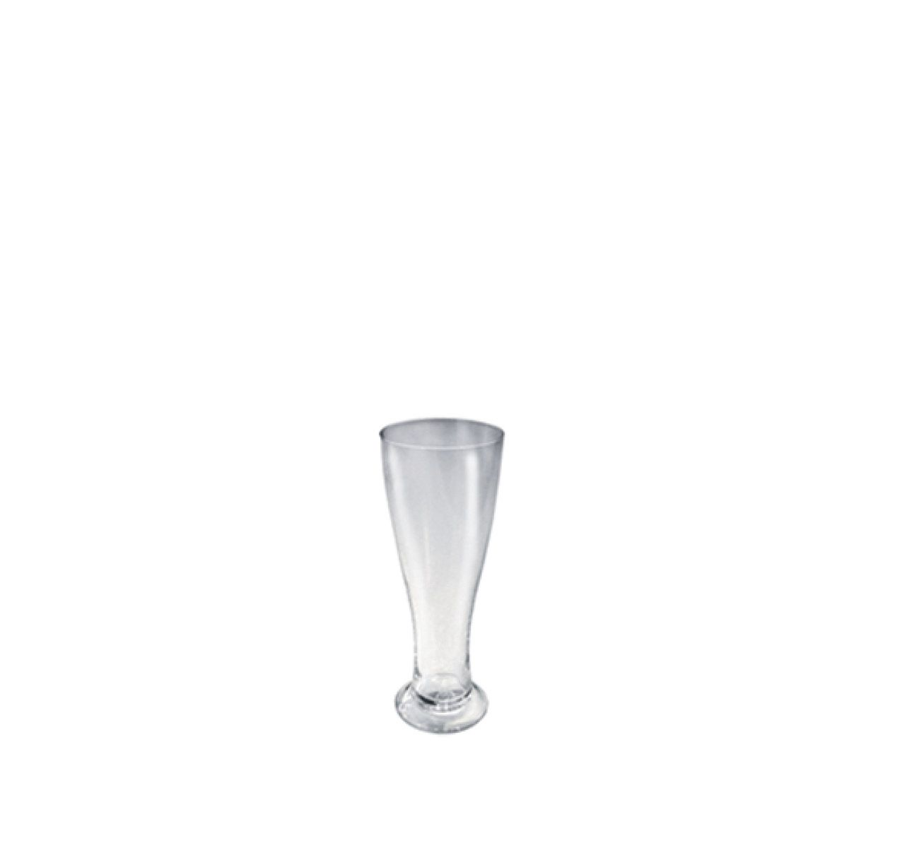 The White Snow - Champagne Flute Set of 6 Glass