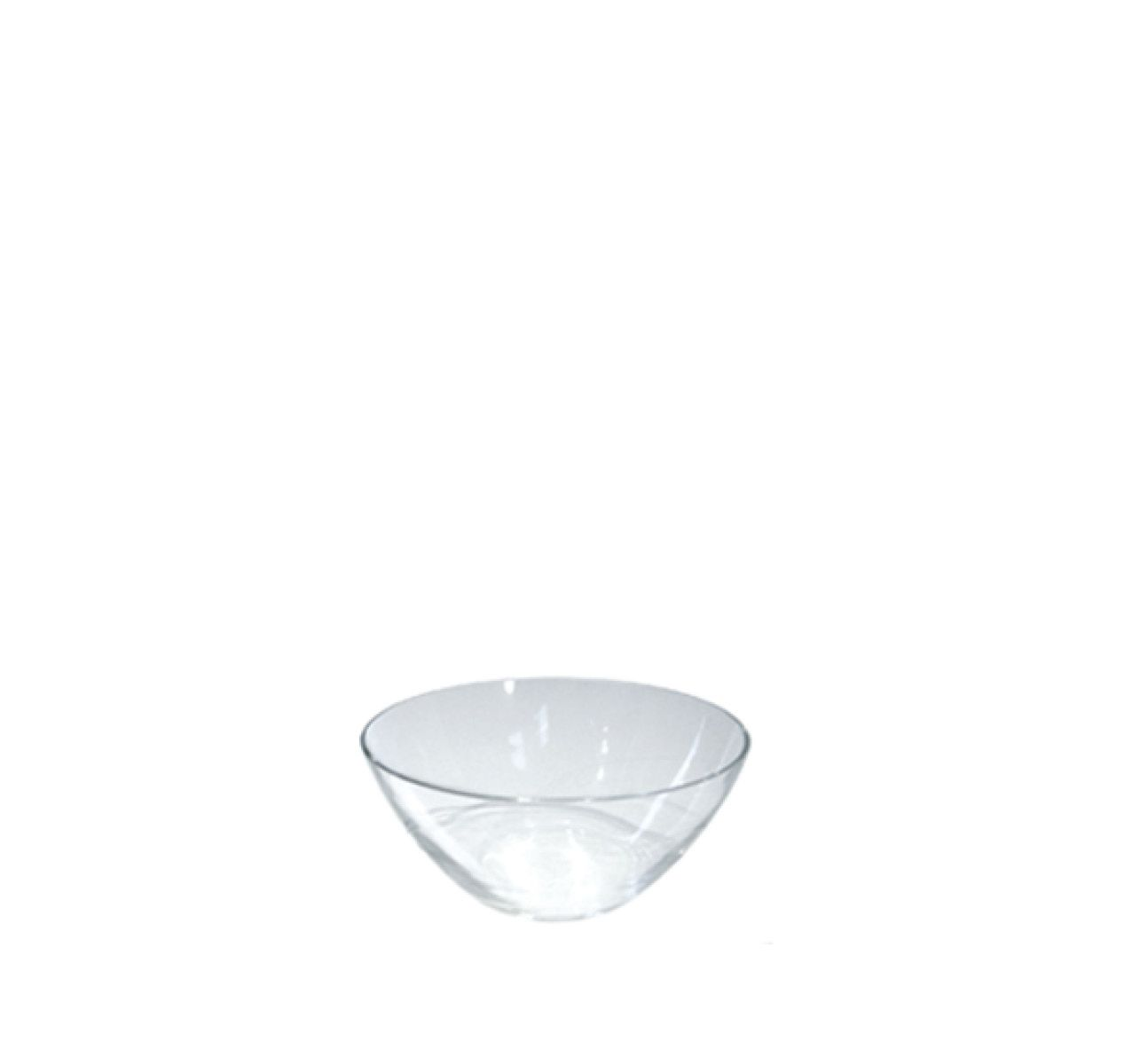 The White Snow Glass - Fruit Salad Bowl Set of 6 Glass