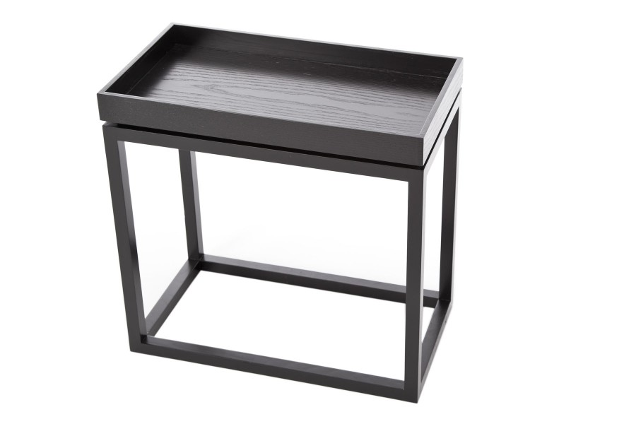 Theo Side Table Black