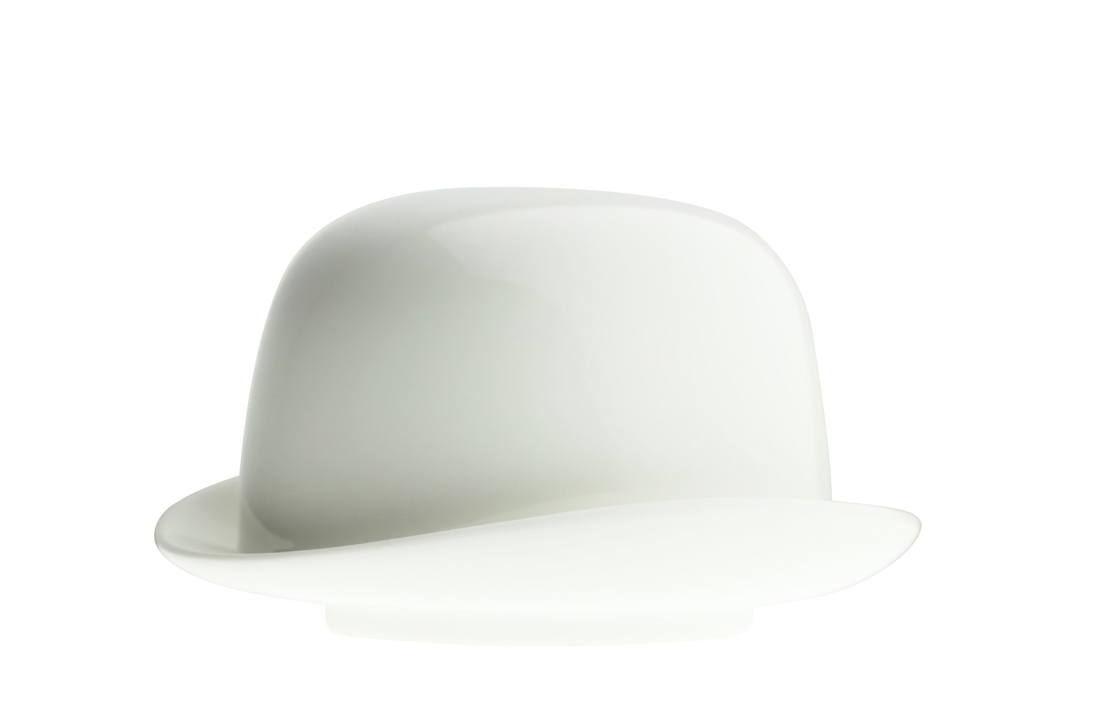 Thompson Top Hat Sugar Bowl White