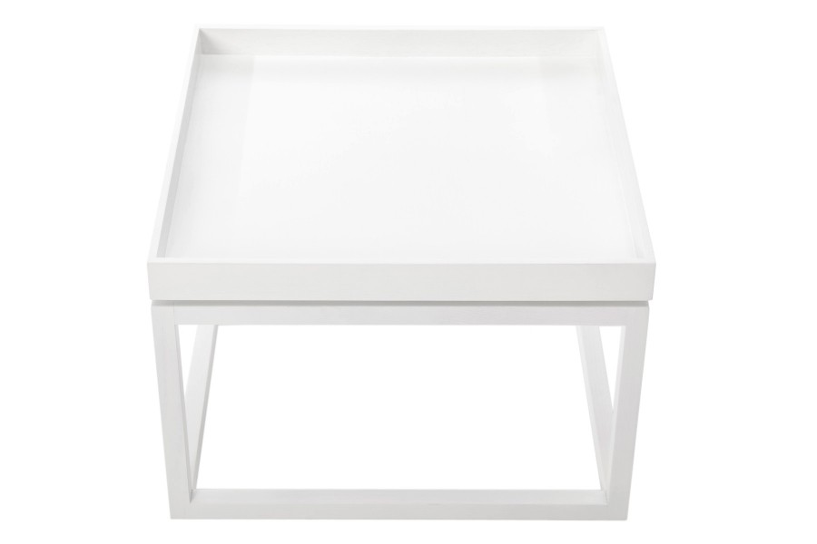 Time Coffee Table White