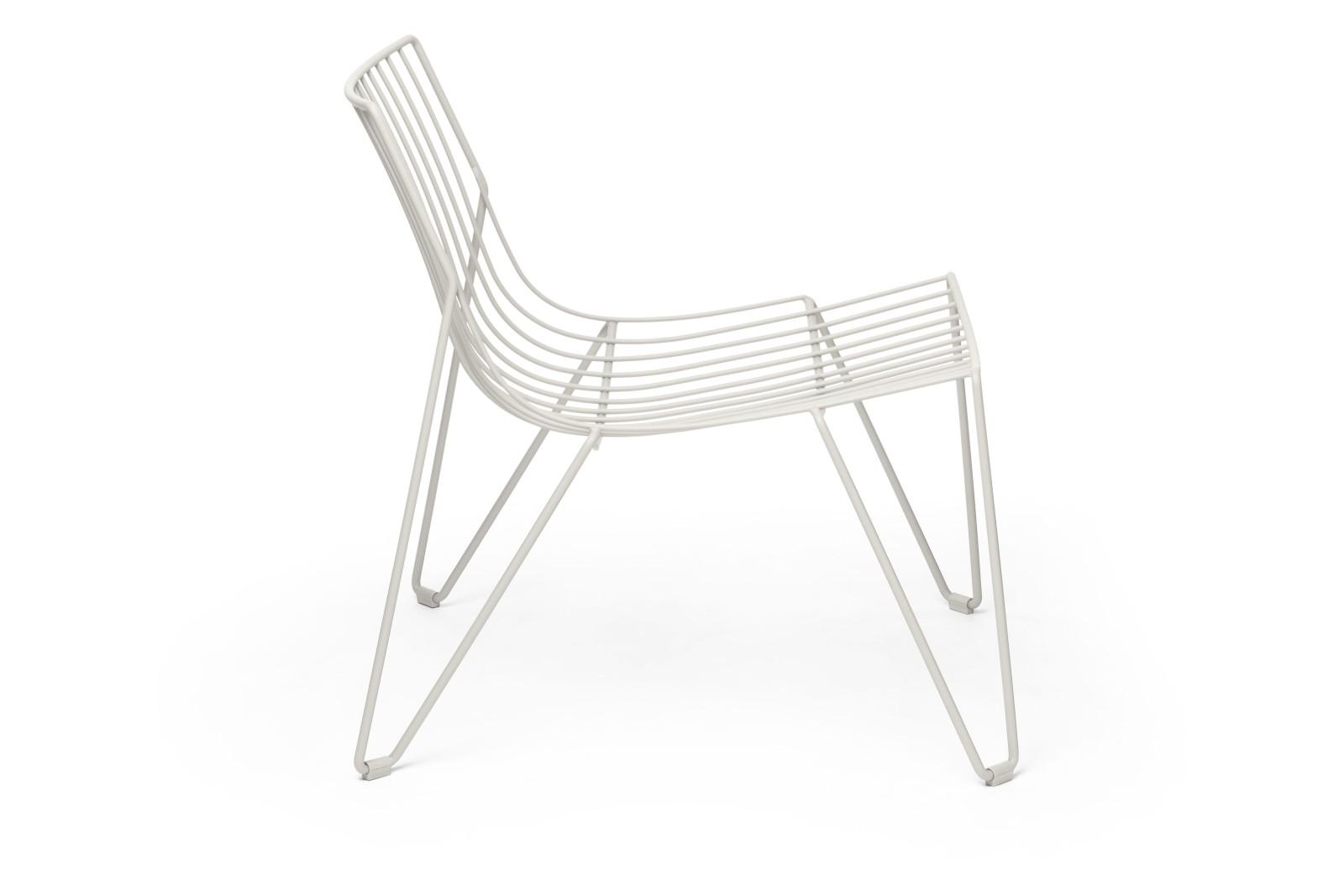 Tio Easy Chair White - RAL 9003